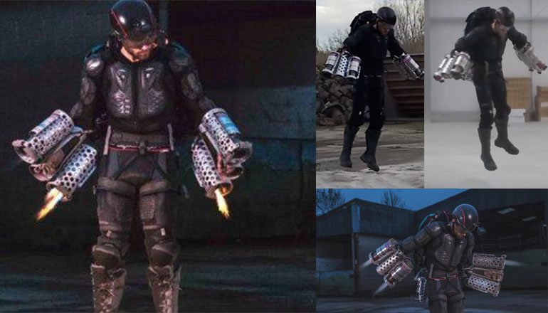 Ex-Marine Builds Real-Life Iron Man Suit, Watch Him Fly