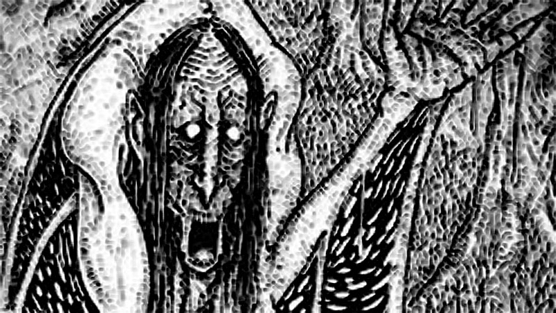 Gwrach-y-Rhibyn, The Hag of the Warning