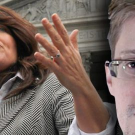 Naomi Wolf Thinks Edward Snowden And His Sexy Girlfriend Are Government Plants